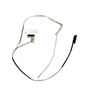 Zahara LCD Video Display Touchscreen Cable 40pin FHD Replacement for Dell Inspiron 15 5547 5548 0KC6CV DC02001VZ00