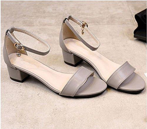 BAJIAN el Boho heelsWomen bajo Planas Sandalias Sandalias Mujer Alta LI Tal Verano THTqrgfw