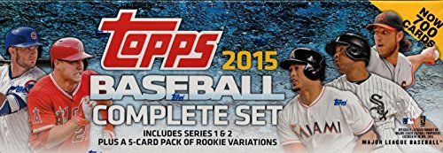 (Topps MLB All MLB Teams 2015 Complete Factory Set, Blue, Small)