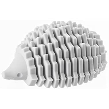 YAMAZAKI home Silicone Animal Card-Holder, Gray/Hedgehog