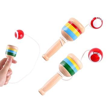 Japanischer Kendama Cup Rolling Stick Ball aus Holz für Kinder Spiele