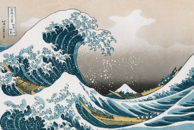 Billedresultat for hokusai the wave
