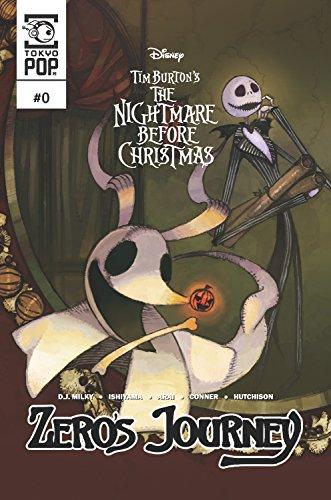 Disney Manga: Tim Burton's The Nightmare Before Christmas: Zero's Journey Issue #0 -