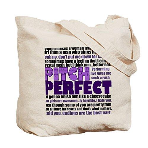 CafePress–Pitch Perfect Citazioni–Borsa di tela naturale, panno borsa per la spesa