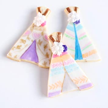 806e557fac8 ½ Dz. Boho TeePee Cookies! Bohemian Chic with a Gypsy Spirit! Birthday  Themed