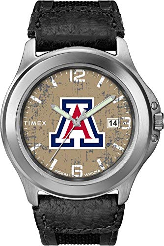 - Timex Men's Arizona Wildcats Watch Old School Vintage Watch