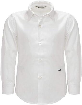 MANUEL RITZ Camisa Blanca para niño Bianco 0 cm/11 años ...