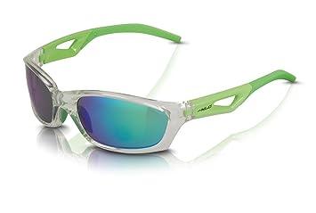XLC Sonnenbrille Saint-Denise SG-C14 Rahmen grau Gläser grün verspiegelt (1 Stück) Cua9OqEE