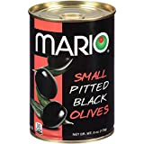 Mario Camacho Foods Small Pitted Black Olives, 6 Ounce (Pack of 12)