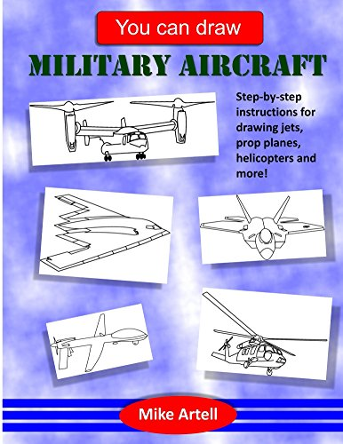 You can draw military aircraft by [Artell, Mike]