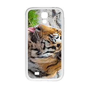 The Cute Tiger Hight Quality Plastic Case for Samsung Galaxy S4