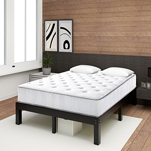 Olee Sleep 10 Inch Cool I-Gel Foam Top Innerspring Mattress - Double Platform Top