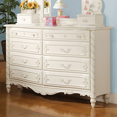 ACME 01020 Pearl Dresser, Pearl White Finish