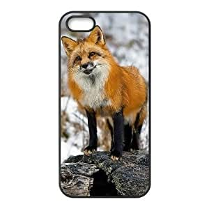 ALICASE Diy Customized Hard Case Fox for Case For Sam Sung Galaxy S4 I9500 Cover [Pattern-1]