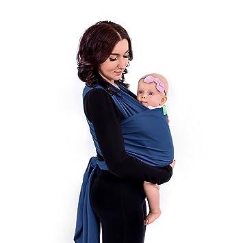 Embrace Bauchtrage Baby-Tragetasche Ergonomisch Ergobaby Babytrage f/ür Neugeborene ab Geburt Extra Weich Heather Grey