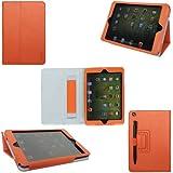 ProCase iPad mini Case - Flip Stand Leather Cover Case for Apple iPad mini 7.9-Inch Tablet auto sleep /wake feature (Orange)