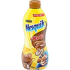 Try NESQUIK Rolo flavored syrup today and add even more nutrients to milk today!ÿ It?s a great way to get more nutrients into your kids? diet!