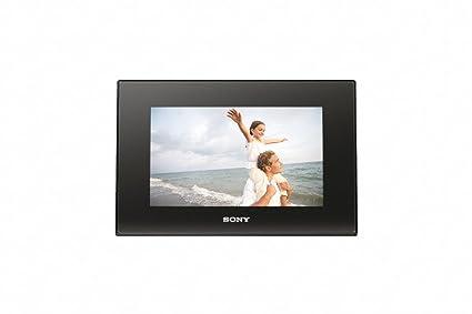 Amazon.com : Sony DPF-D72 7-Inch LCD WVGA 16:10 Photo Frame (Black ...