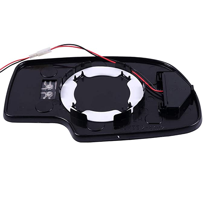 Comes with Driver Side 065092-5206-1523561213 SCITOO Towing Mirrors Replacement Glass with Indicator Electrical Operated Defrosting Function Compatible for fit 03-07 Chevy Suburban Silverado Tahoe GMC Sierra
