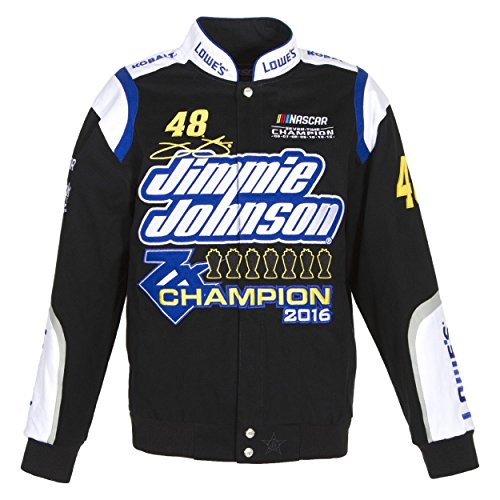 J.H. Design Jimmie Johnson 7 Times Sprint Cup Champion Jacket Size (Jimmie Johnson Nascar Jackets)