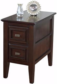 Ashley Furniture Signature Design   Larimer Chair Side End Table   2 Drawer    Rectangular