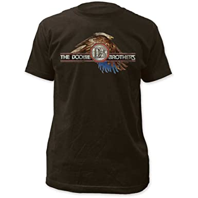 Amazon.com  Doobie Brothers Mens Eagle Fitted Jersey T-Shirt  Clothing 081699988