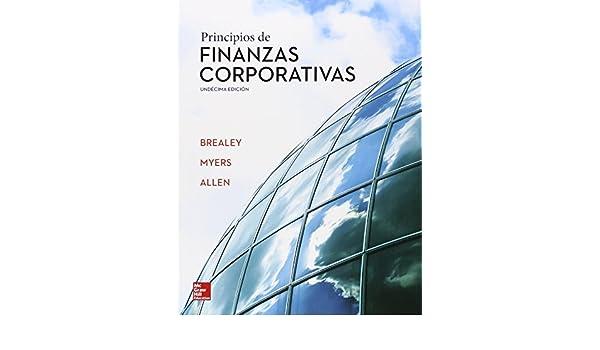 brealey myers principios de finanzas corporativas pdf