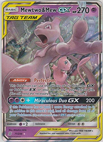 Mewtwo & Mew Tag Team GX - 71/236 - Ultra Rare - Unified Minds