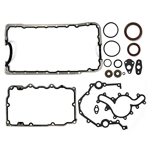 Lower Oil Pan Gasket (1997 98 99 2000 01 02 03 04 05 06 07 08 09 10 11 Ford 4.0L SOHC Lower Gasket Set w/ oil pan gaskets seals)