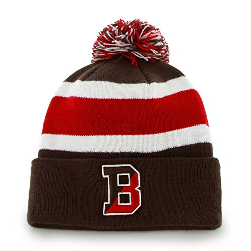 NCAA Brown Bears Breakaway Cuff Knit Hat, One Size, (Brown University Bears)