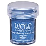 Wow Embossing Powder WOW! Embossing Powder, 15ml, Opaque Primary Process Blue