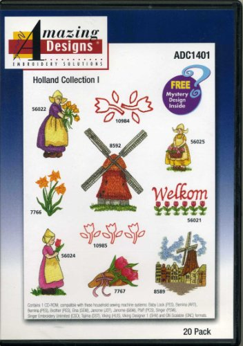 - Holland Collection I 20 Designs Amazing Designs Embroidery Solutions