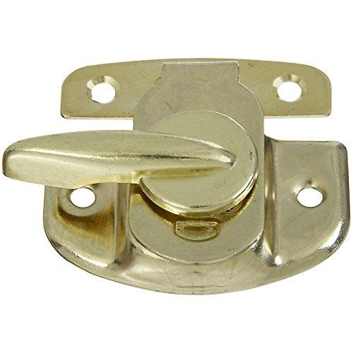 (National Hardware N193-607 V602 Tight Seal Sash Lock in Brass)