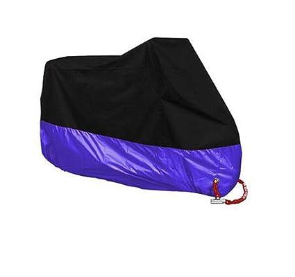 XXL Purple Motorcycle Bike Cover 190T Waterproof Dust Rain Snow UV Protector