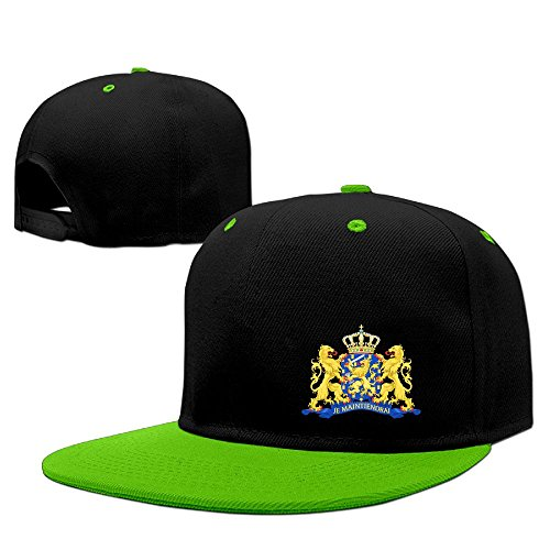 Xiha01ksi Unisex Coat Of Arms Of Netherlands Hiphop Caps (Santa Chef Felt)