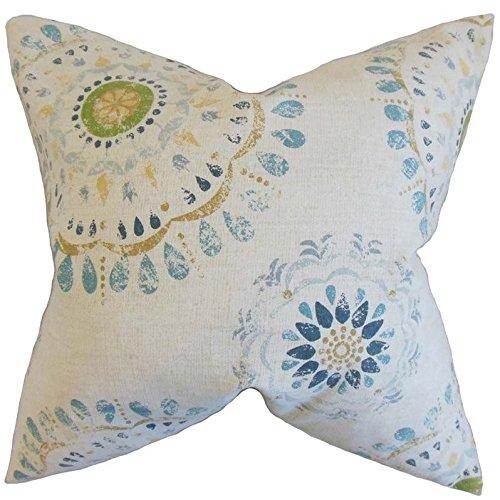 The Pillow Collection Hali Geometric Pillow, Rain