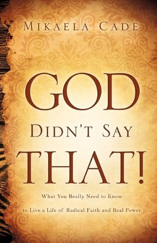 God Didn't Say That! pdf epub