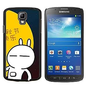 TECHCASE---Cubierta de la caja de protección para la piel dura ** Samsung Galaxy S4 Active i9295 ** --Naturaleza Lago Niebla
