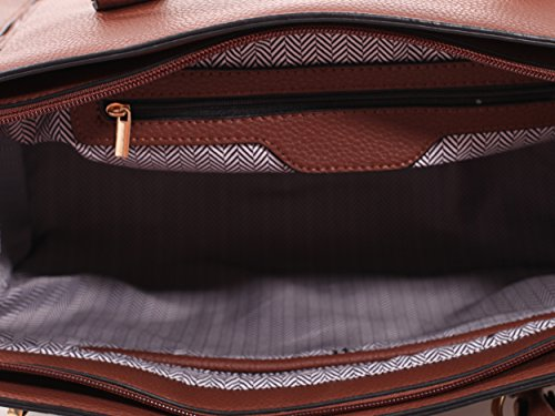 Outfitters Brown Bag Carry Satchel with Kathy Emperia Wallet Matching Concealed gzdqqa