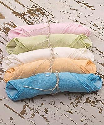 Organic Bamboo Baby Washcloths by Bamboosa