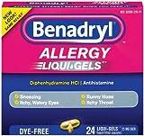 Benadryl Dye-Free Allergy Reliefs (Pack of 3)