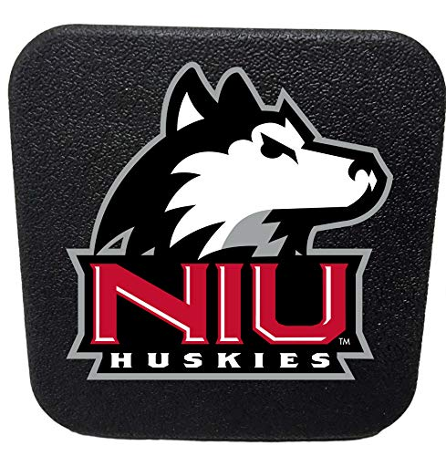 Northern Reflections - Northern Illinois Huskies Rigid Rubber Hitch Cover Plug Trailer Auto University
