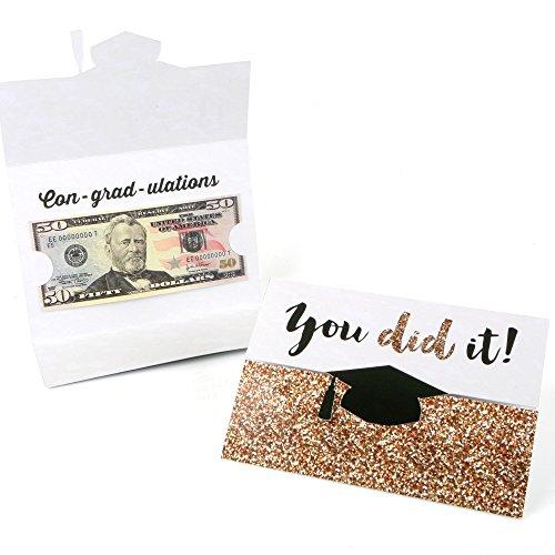 Gold Tassel Worth The Hassle - Graduation Money Holder Cards - Set of 8