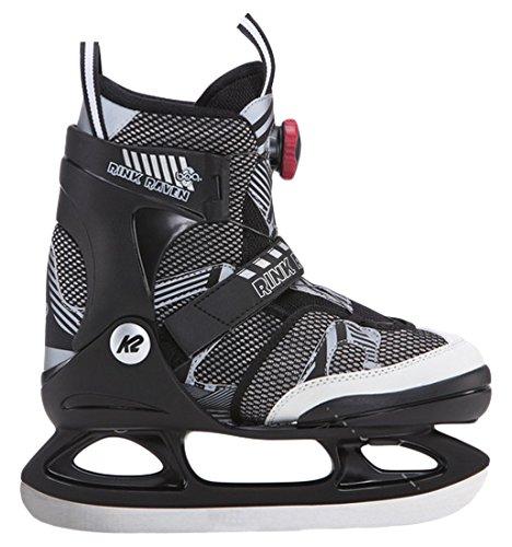 K2 Skate Rink raven BOA, Black/White, 1-5