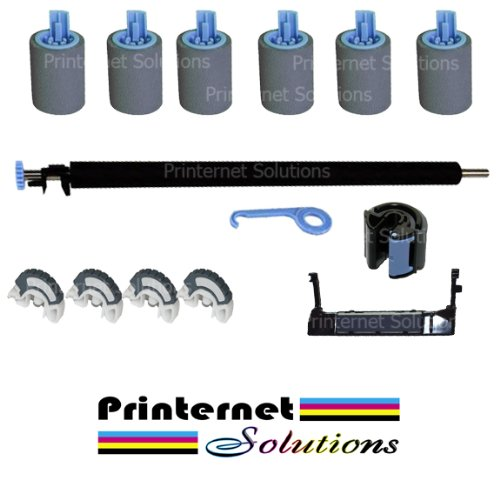 Maintenance Roller Kit for HP Laserjet 4000/4050 / with Instructions by Printernet Solutions