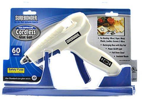 Surebonder CL-800 Cordless High Temperature Glue Gun 1 pcs sku# 1831295MA by Surebonder (Image #1)