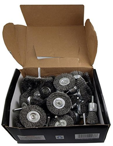 - 40-pc. Wire Wheel Brushes