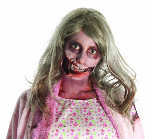 The Walking Dead TV Show Costume Accessory, Little Girl Mouth Latex Appliance and Adhesive, One Size]()
