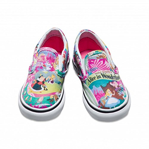 On Slip Alice Amazon In Rosa Vans Disney Wonderland Sneaker Neonato xwRqgRpn0