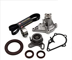 ANPART Timing Belt Kit Fit For 2006-2011 Kia Rio 2006-2011 Kia Rio5 Timing Belt Water Pump Tensioner Gasket Set